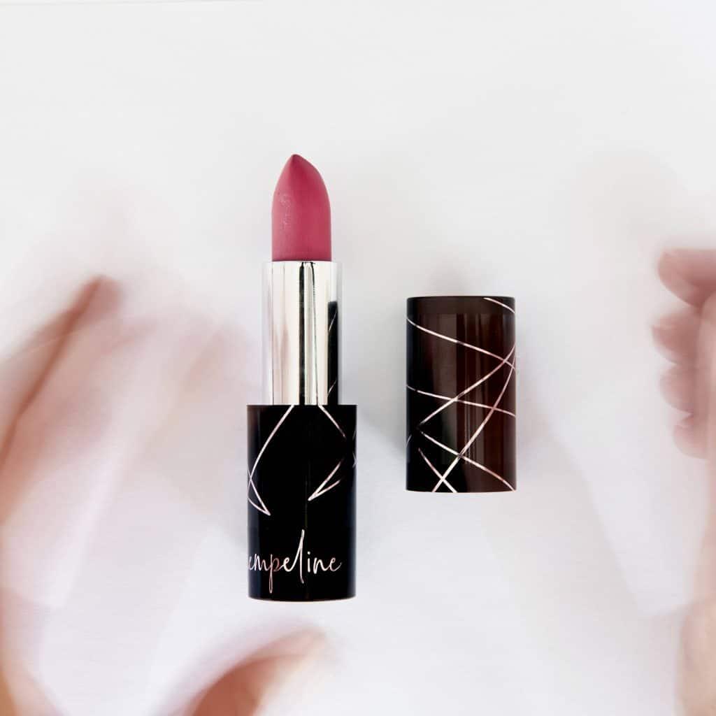 MakeUp Seidenmatter Lippenstift pink floyd