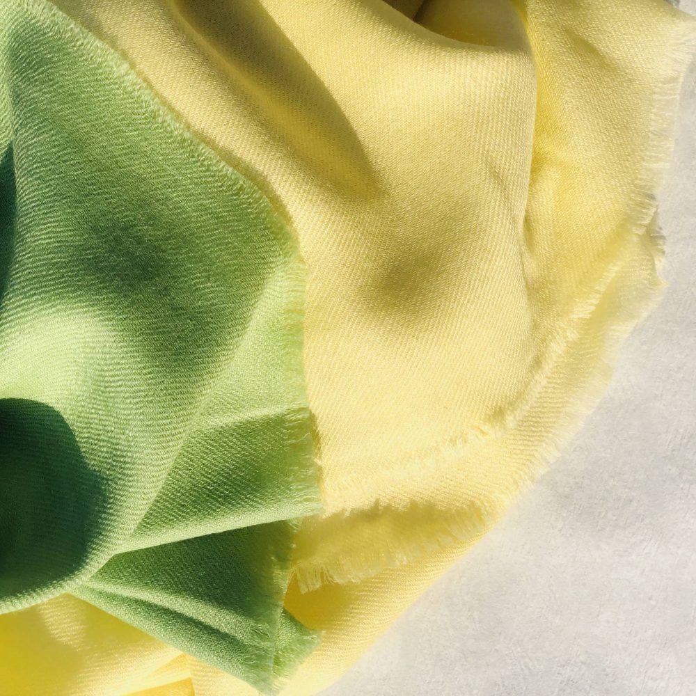 Kaschmirtuch Farbverlauf