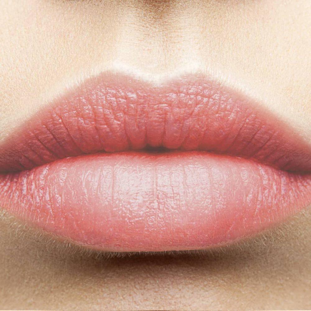 Seidenmatter Lippenstift rosa langanhaltend