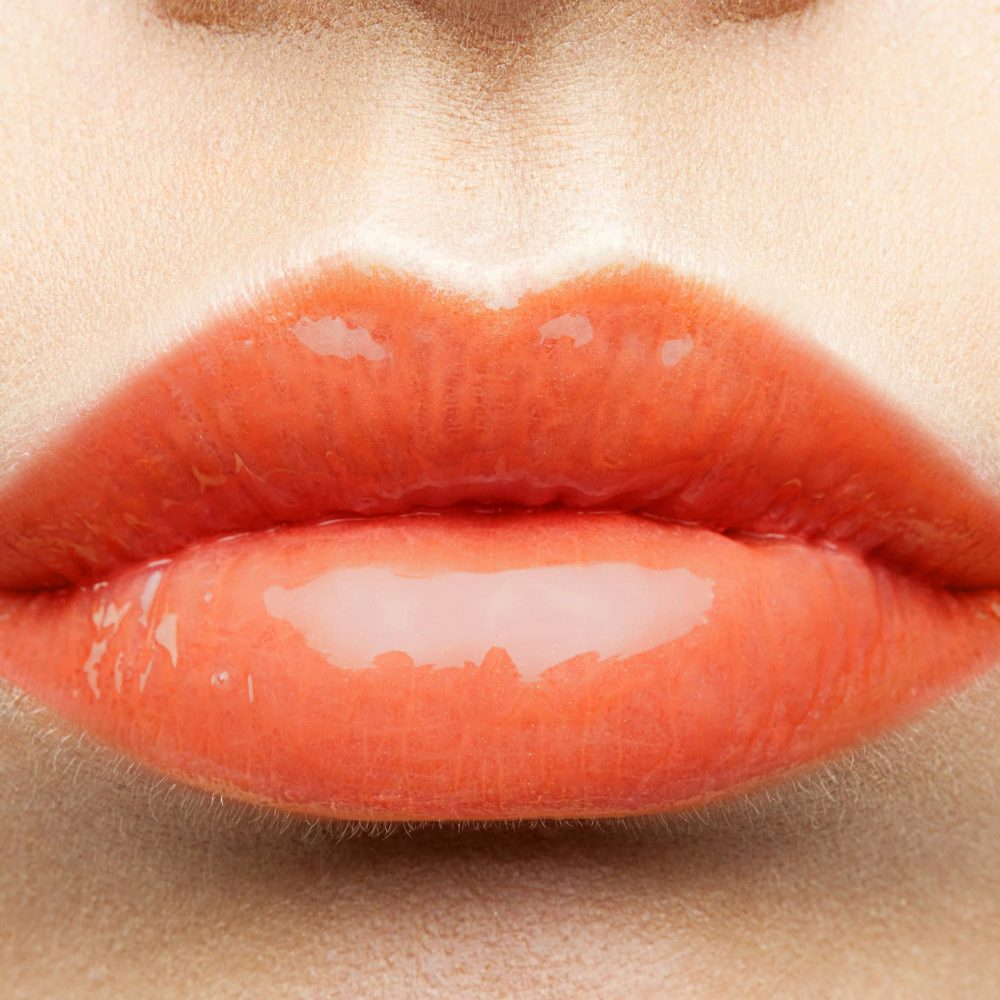 MakeUp Lipgloss orange glam